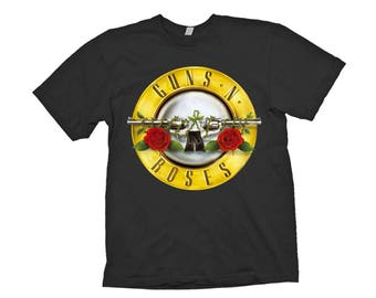 guns n roses t shirt rock music t-shirts guns and roses mens woman clothes