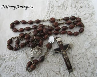 Lourdes rosary French 1920's