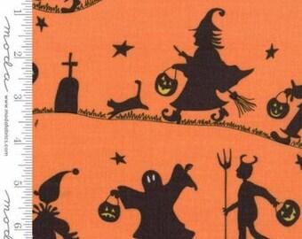 Hocus Pocus by Sandy Gervais for Moda Fabrics, Pumpkin, Moda #1793012