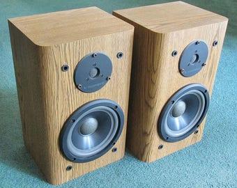 infinity bookshelf speakers. nice, clean vintage infinity rs 2001 2-way bookshelf speakers - sound great! p