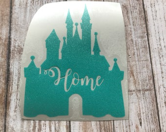 Home Castle Vinyl Decal Car Laptop Wine Glass Sticker