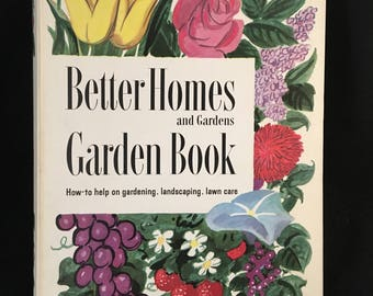 Better Homes And Gardens  GARDEN Book  2nd edition 1954 Hardcover