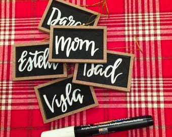 Personalized Stocking Tag