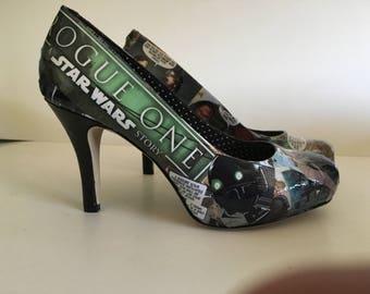 Star Wars Rogue One Jyn Erso Cassian Andor Heels (Size 5.5)