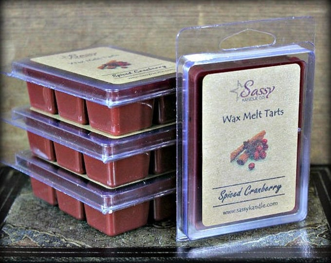 SPICED CRANBERRY | Wax Melt Tart | Sassy Kandle Co.