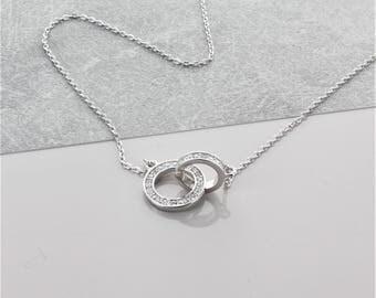 Infinity Zircon Necklace