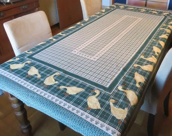 Vintage French Country Tablecloth