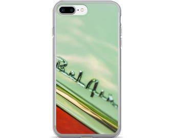 iPhone 7/7 Plus Case - Red Silo Original Art - Chevy Bel Air 1
