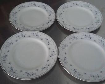4 Royal Doulton 'Cotillion' Tea Side Cake Plate Plates 167 mm