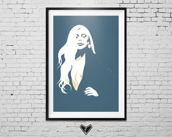 Lady Gaga Print