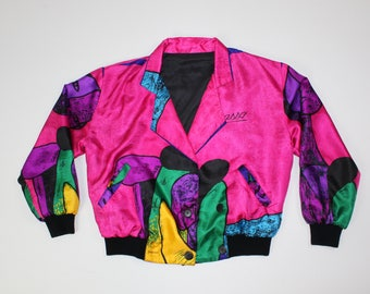 Vintage Picasso Bomber Jacket