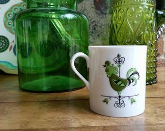 Vintage Weathervane Rooster Coffee Mug