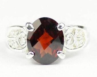 On Sale, 30% Off, Mozambique Garnet, 925 Sterling Silver Ladies Ring, SR369