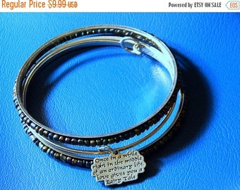 SALE Love Gives You A Fairy Tale...  Charm Bracelet