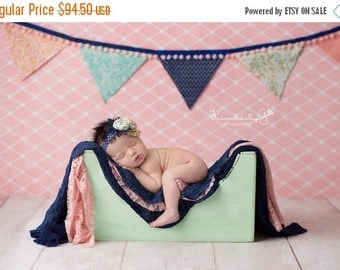 SUMMER SALE Baby Toddler Photography Prop Wooden Bench or Ottoman