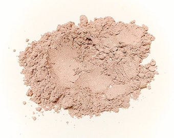SUBTLE PETAL Soft Shimmer Mineral Foundation - Natural Mineral Makeup Vegan Gluten free