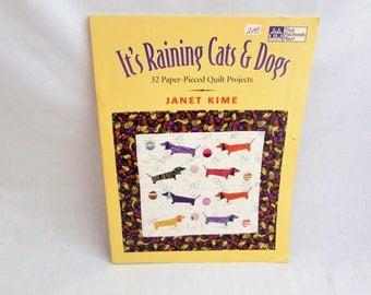 Quilt Project Book - It's Raining Cats and Dogs