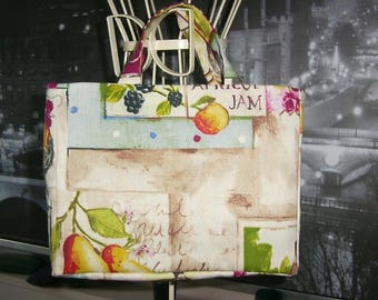 Fancy making bag made made in france model Tote junior garden of england