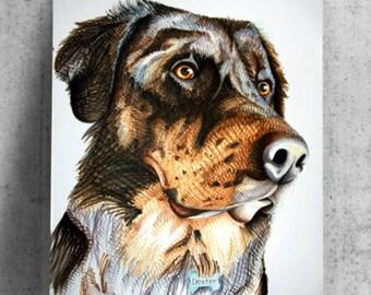 22inX28in Custom Pet Portrait