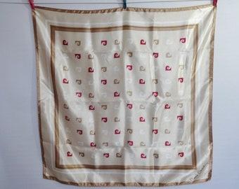 "Vintage Pierre Cardin scarf 89cm x 89cm / 35"" x 35"""