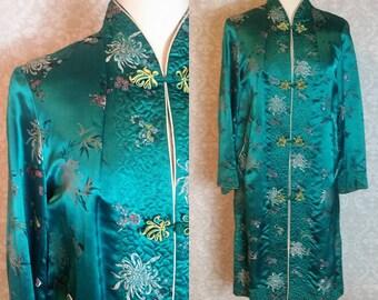 Authentic Kimono Robe Vintage 1960s I Kimono Robe Tunic I Vintage 1960s MOD Cocktail Tunic I 1960s Womens Fashions I Retro Hipster