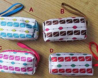 Womens girls wristlet coin purse