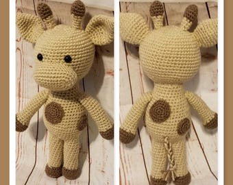 Lolly the Giraffe Crochet Pattern Let's Play Dress Up!