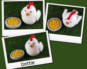 Dottie the Chicken crochet Pattern