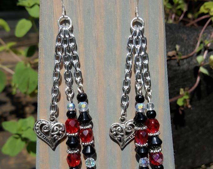 Hearts & Chains Earrings