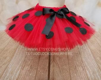 Customizable Ladybug Inspired Tutu Skirt, Lady Bug Tutu, Ladybug Skirt, Lady Bug Skirt, Ladybug Party, Baby Ladybug, Ladybug Birthday