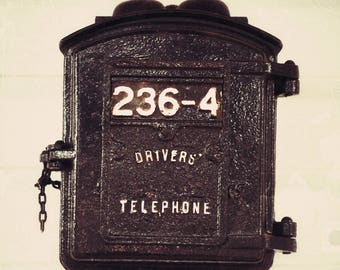 Antique Train Driver's Telephone