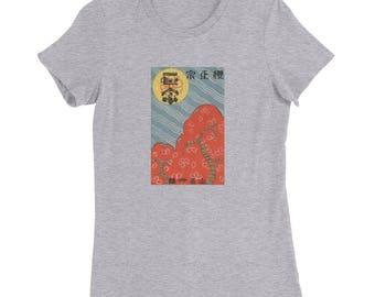 japan_design Women's Slim Fit T-Shirt travel vintage