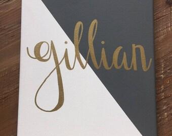 Custom name canvas