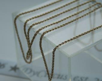 "14ct Gold 24"" Chain"