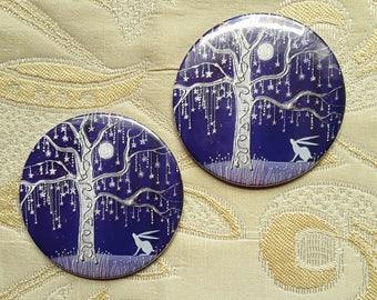 Tree of Stars Pocket Mirror