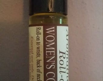 ON SALE Comfortable Woman, Aromatherapy Roller, Women's Comfort, Patchouli, Ylang Ylang, Essential Oils, Neroli, Natural, Organic, Non-GMO