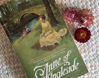 Anne of Green Gables series, Anne of Ingleside, book 6, By LM Montgomery, vintage, classic novel