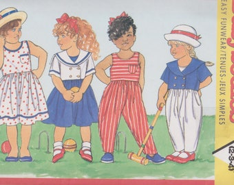 Childrens Dress Jumpsuit Busybodies 4585 Girls Jacket Dress Jumpsuit Sizes 2 3 4