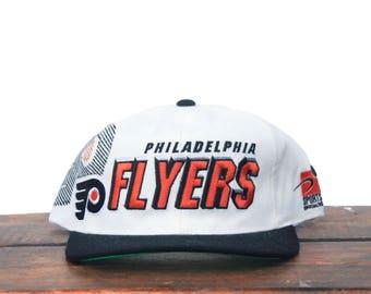 Vintage New Unworn Sports Specialties Shadow Philadelphia Flyers NHL Hockey Snapback Hat Baseball Cap