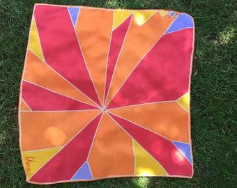 Vintage Vera Neumann Scarf - Abstract Bright Summer