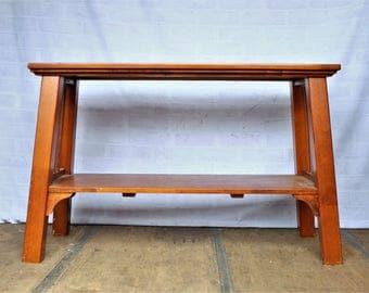 Vintage Solid Teak Side Table - Sideboard - Desk - Lovely condition