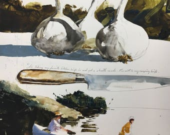 "1114 original watercolor 8x10"""