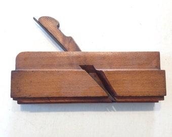 RARE, Antique Edgerton wooden plane ALL original