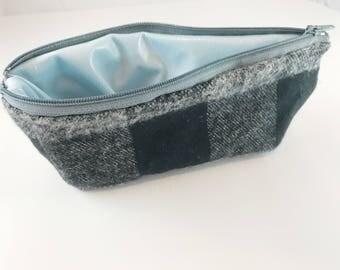 Flannel Snack Bag, Washable Snack Bag, Waste Free Lunch