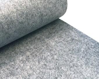 Pocket felt 3 mm grey
