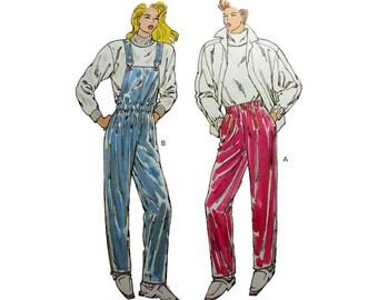 "Ski Pants, Rain Pants, Women's Sewing Pattern, Misses Size XS-S-M-L-XL Waist 22"" - 37"" Uncut Kwik Sew 1936"