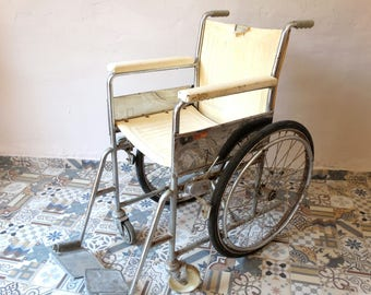 Antique Wheelchair, Everest Jennings, Medical Oddity, Curiosity Decor, Medical Pharmacy Decor, Rolling Chair, Medical Equipment, Oddities