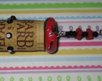 Accessory fashion/door keys/wine/Cork Cork Wine/polymer GÉRARD DEPARDIEU