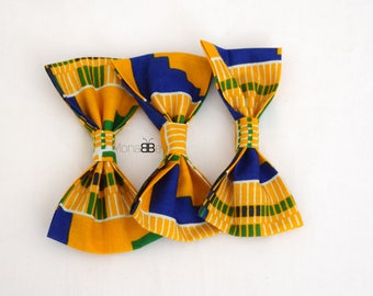 African Fabric Hair Bow, African Fabric Hair Accessories, Fabric Hair Bows, Handmade Hair Accessories, Ankara Fabric, Wax Hollandais, Vlisco