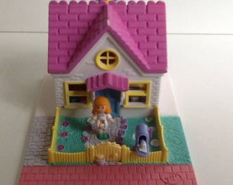1993 Bluebird Polly Pocket COZY COTTAGE